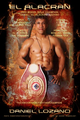 JENMEDIA / WORKS / IMAGE GALLERY UPLOADS / PRO BOXING / PRINT WEB GRAPHICS FLYERS / ATHLETE BRANDING / #DANIELLOZANO / #PROBOXING
