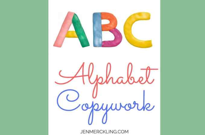Free Handwriting Worksheets! Handwriting practice for upper and lowercase letters! Improve your child's handwriting and help them learn the alphabet!