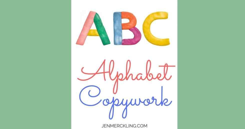 Free Handwriting Worksheets For Kids Jen Merckling