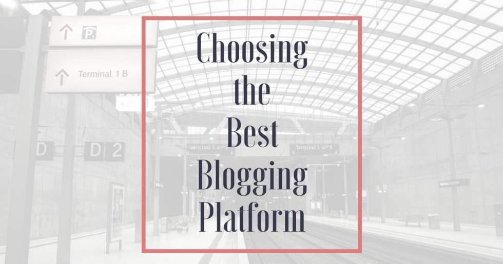 How to choose the best blogging platform when you start a blog. Here's a comparative look at the free versus paid blogging platform options.