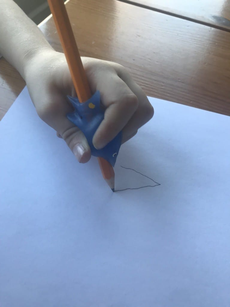 Teaching your left handed child handwriting can be challenging--especially if you are right handed! I have two left handed sons--here's what I've learned to help teach them handwriting!
