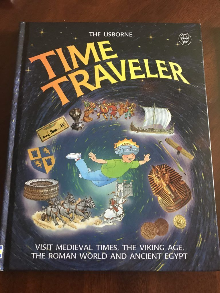 I love learning what curriculum other homeschool families are using with their kids! Here's a peek into what I'm using with with my 1st grade son (and why)! Here's The Usborne Time Traveler book I'm using with our history lessons!