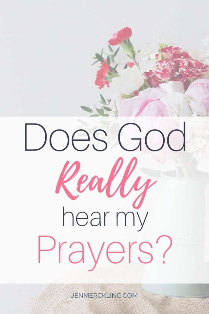 Sometimes we wonder if God hears our prayers! We may even feel unworthy to come before Him in prayer. Here are biblical truths to help overcome your doubt!