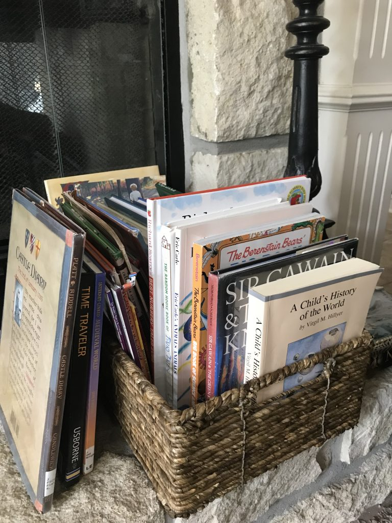 Morning Basket with Homeschool History Curriculum