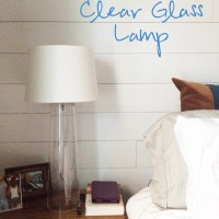 DIY Clear Glass Lamp