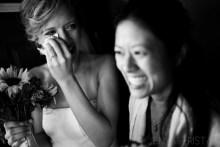 Sneak Preview Emotional Black White Wedding