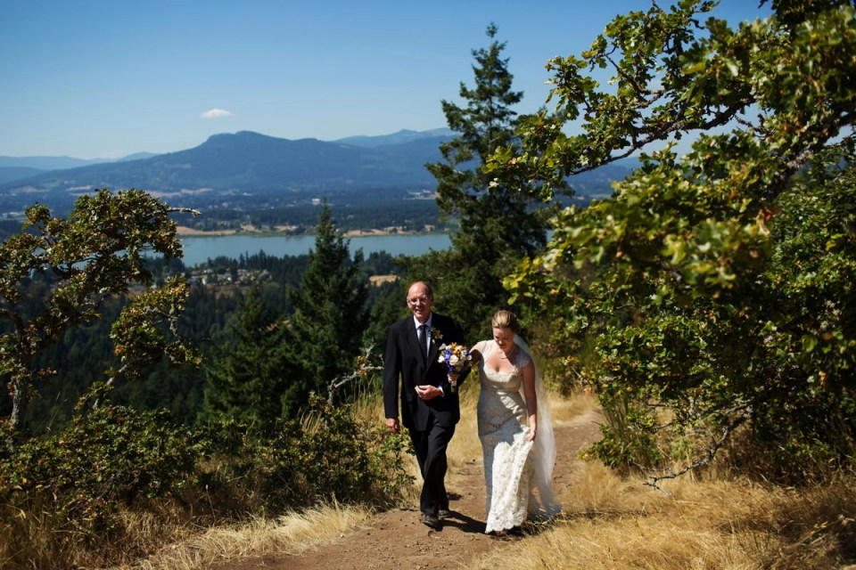 Hudsons On First Restaurant Wedding In North Cowichan With Kate Andrew