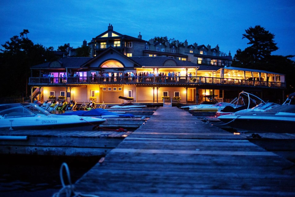 Taboo Muskoka Resort Wedding In Gravenhurst With Pam Brian