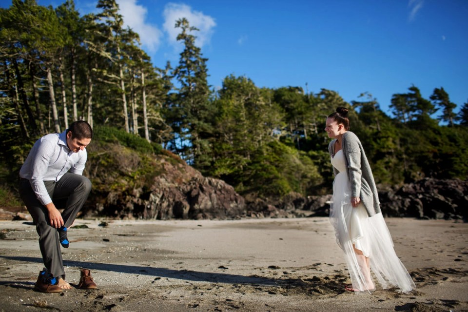 Wickaninnish Inn Elopement In Tofino With Carly Eldon