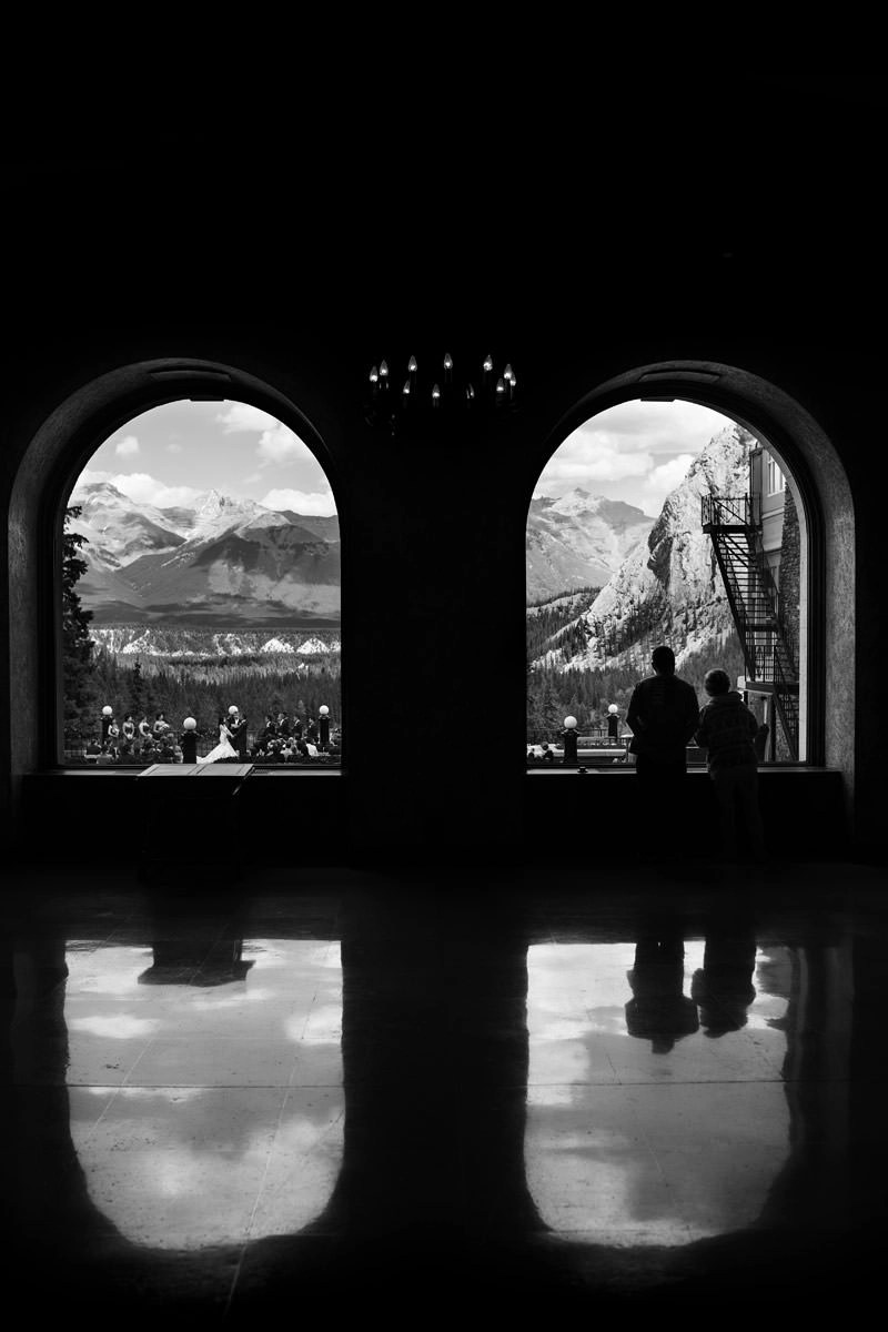 Banff Springs Hotel Wedding In Banff With Linda Ravi