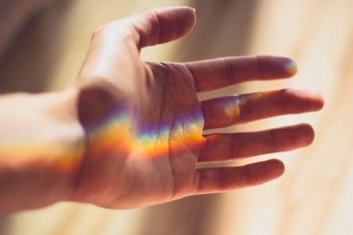 Mains ressentis spiritualité