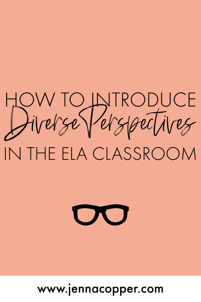 Looking for ways to diversify your high school or middle school curriculum? This post explains 7 strategies to incorporate multiple perspectives in your secondary classroom. You'll find activities, books, ideas, and examples to encourage your students to value of diverse voices.