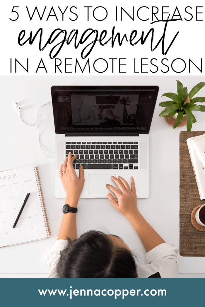 Struggling to engage students in a remote lesson? Keep reading for strategies to provide accountability for students during distance learning in a video lesson. High school and middle school students will enjoy collaborative board and interactive activities!