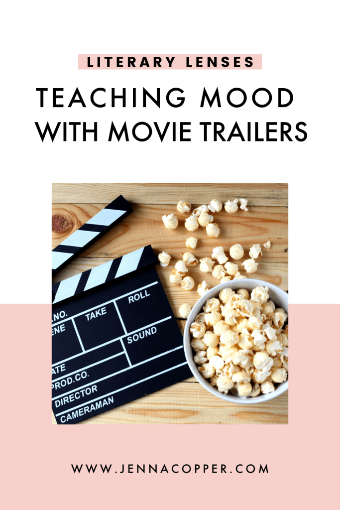 Are you looking for a fun lesson on teaching mood as a literary device? Look no further! This post explains how to use reader response lens to teach literary analysis and critical reading to middle school and high school ELA students. You'll find strategies, ideas, activities, text pairings, and graphic organizers to encourage critical thinking skills from Bloom's taxonomy and meet Common Core standards.