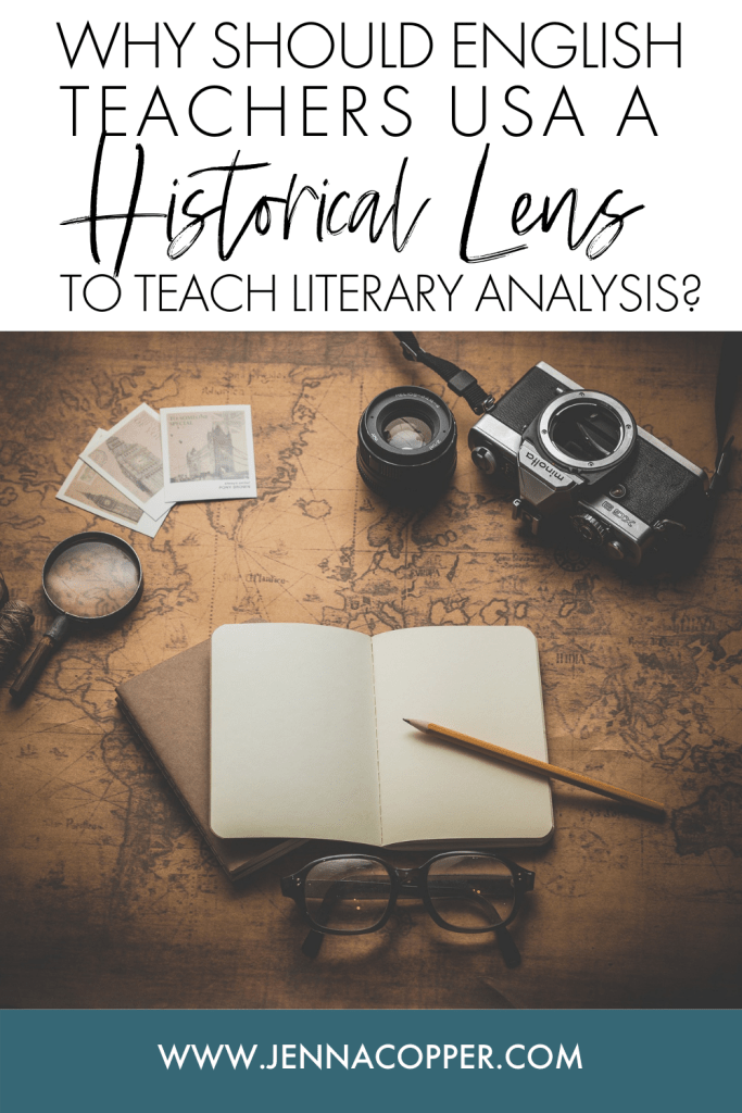 In this post, you'll learn how to use historical lens in your English language arts classroom as a cross-curricular strategy. This literary lens will encourage students to explore social, cultural, and historical contexts to make connections to the literature, novels, or short stories they're reading.