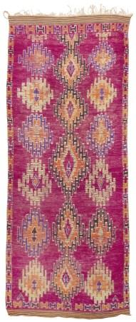 fibers2 Mid Century Moroccan Rug