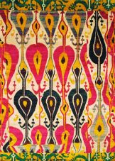Central Asian textile