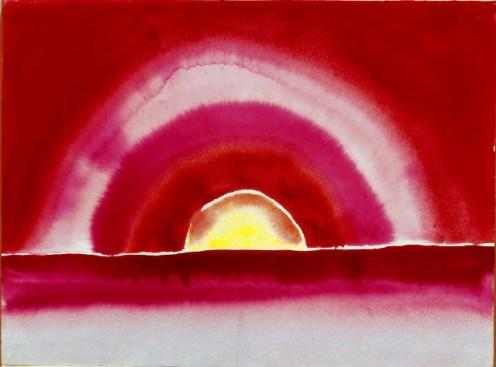 Georgia O'Keeffe, Sunrise, 1916 2
