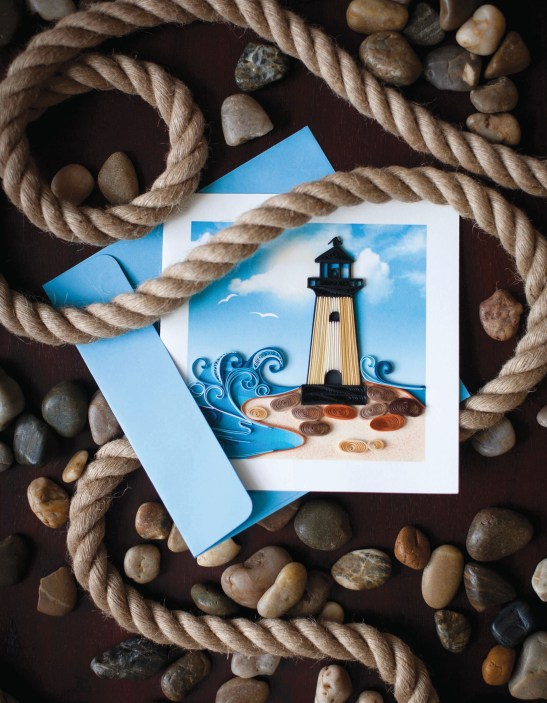 Catalog page for 2016 Quilling Card Catalog