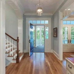 Gray Paint Colors For Living Room White Accent Chairs Furniture The Best Blue Jenna Kate At Home Benjamin Moore Gentle Entrway