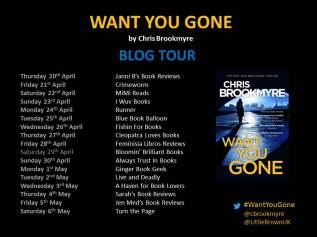 WANT YOU GONE banner