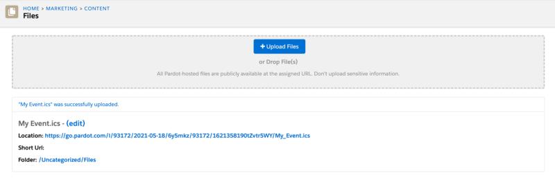 """, Comment ajouter des invitations de calendrier aux pages de destination Pardot et e-mails<span class=""""wtr-time-wrap after-title""""><span class=""""wtr-time-number"""">3</span> minutes de lecture</span>"""