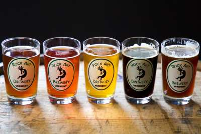 Beer photography for Vermont Small Business