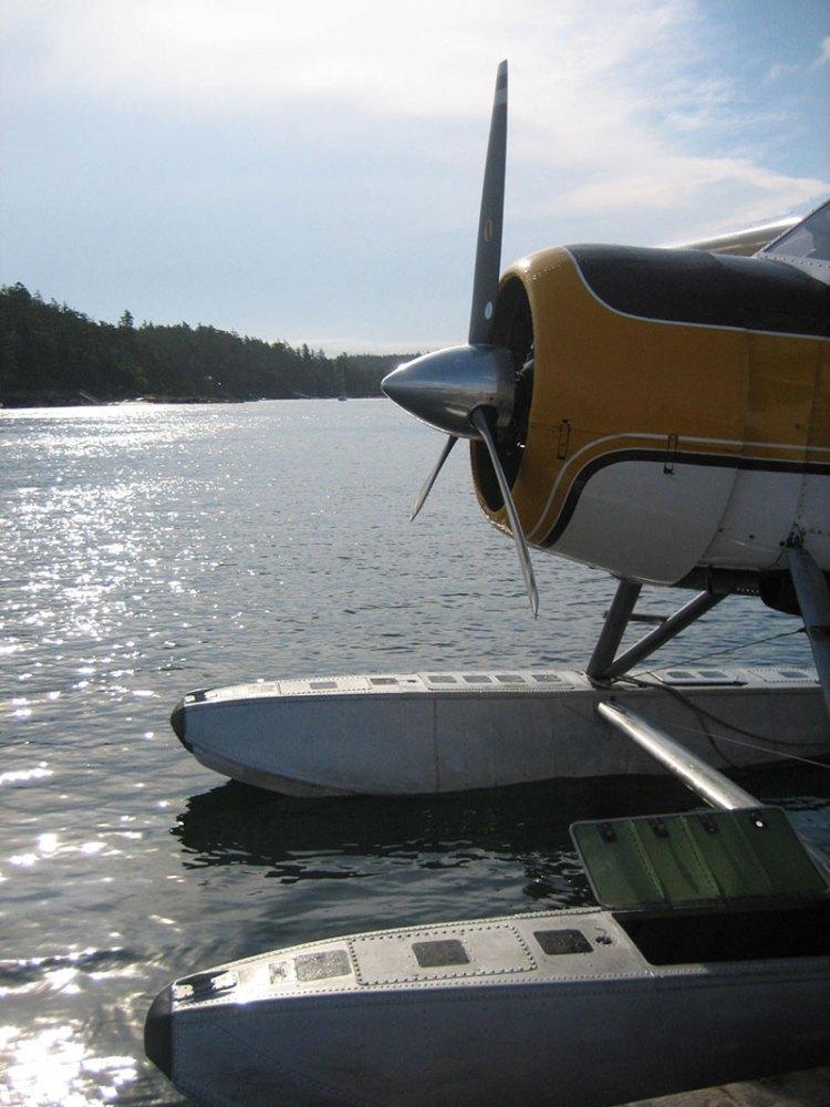 Seaplane in Friday Harbor, San Juan Islands