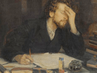 Writer's Block Leonid Pasternak