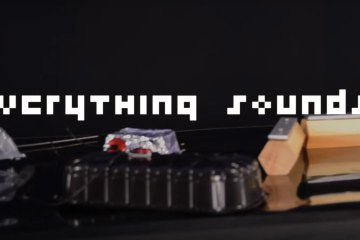 Everything Counts by Depeche Mode and a LEGO band