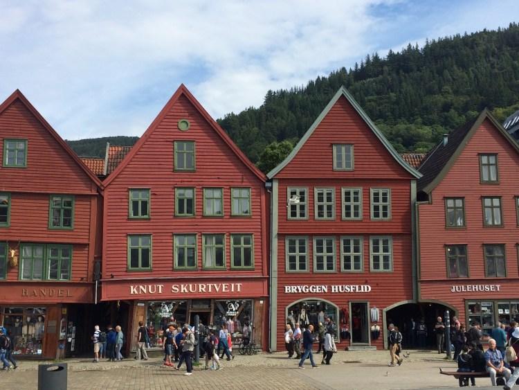Hanseatic Wharf: Bergen, Norway