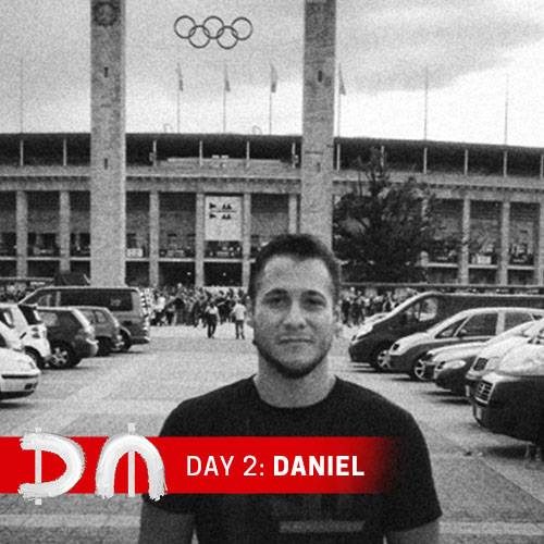 """Daniel Cassús, Day 2 of the Depeche Mode Takeover and star of """"Spirits in the Forest"""""""