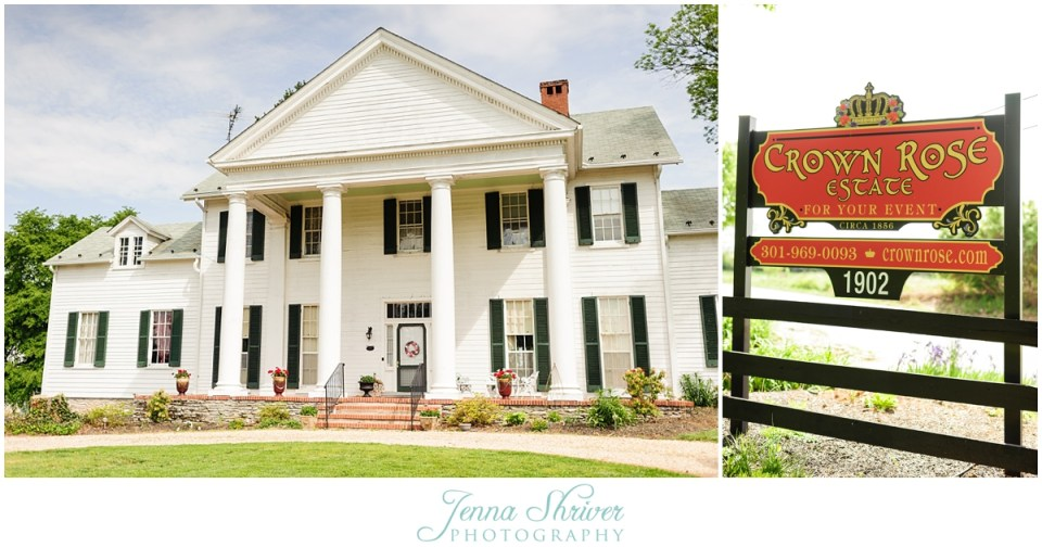 Crown Rose Estate Frederick, Maryland Wedding and Event ...