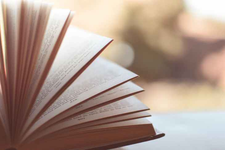 blurred book book pages literature