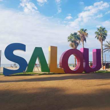 Salou sign