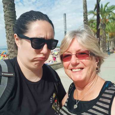 Travelling with my mum