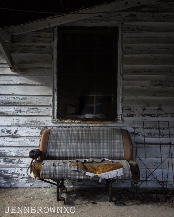 weathered and worn