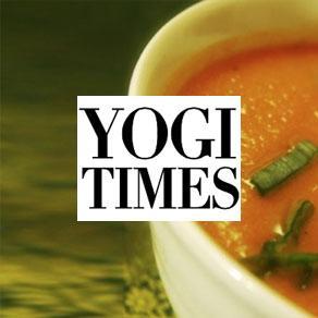 Yogi Times Magazine Feature