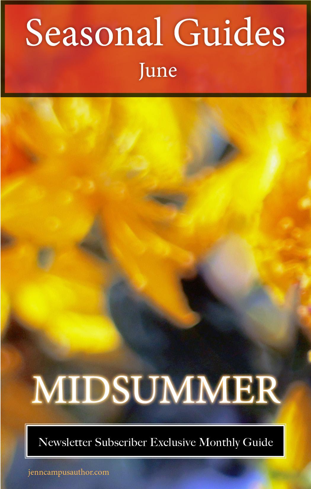 Seasonal Guide for June - Midsummer
