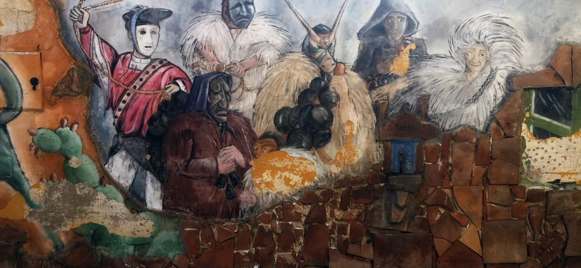 Mural - Traditions of Sardinia