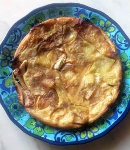 Photo of Fainè (chickpea cake) with Roasted Zucchini Recipe
