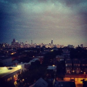 chicago skyline life thoughts