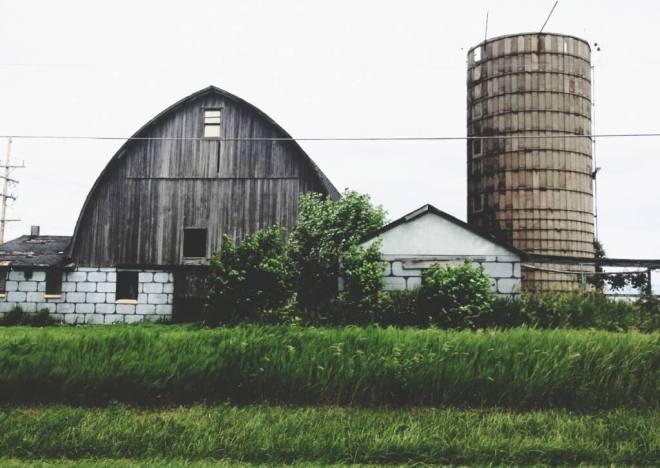 wisconsin farm silo