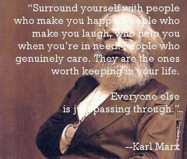karl marx positive