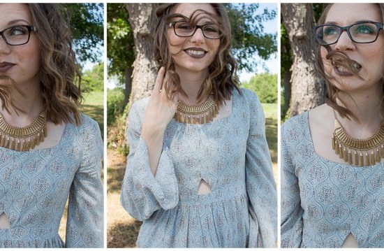 Simple Summer Style | Boho Longsleeved Dress