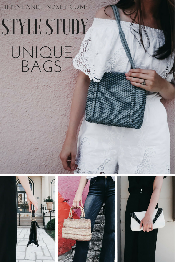 Unique bags are so on trend right now! Here are a few styles you have to try and a little tip on where to find them for super cheap!