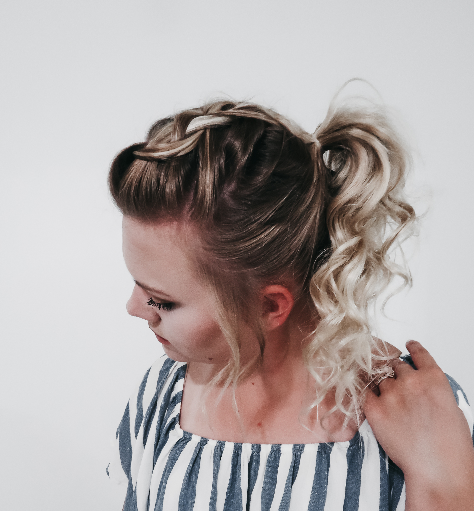 The Practically Effortless Ponytail 2