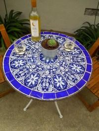 DIY Bistro Table  Jenneke Rose