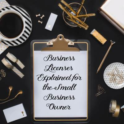 Mamapreneur 101: Business Licenses - Jenn Elwell