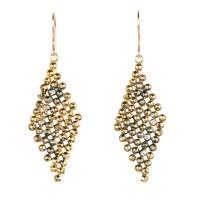 Faceted Diamond Dangle Earrings | Jenne Rayburn